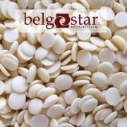 Глазурь белая шоколадная  Belgostar 5 кг