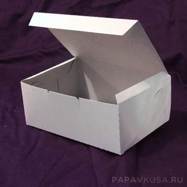 Коробка для пирожных 200*140*80 мм