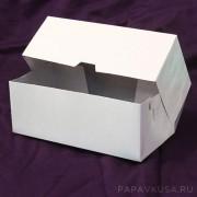 Коробка для пирожных 200*100*75