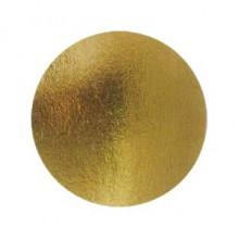 Подложка  усиленная для торта (34см) золото(толщина 2.5 мм.)
