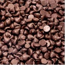 Глазурь термостабильная шоколадная Капли 1200 (мешок 1кг)