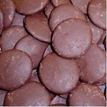 Глазурь какаосодержащая Диски (мешок 1кг)