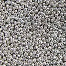 Шарики сахарные Серебрянные 3мм (50гр.)