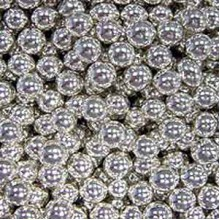 Шарики сахарные Серебрянные 7мм (50гр.)