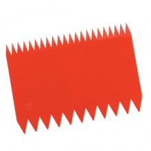 Скребок Гребенка пластиковый (110х80мм )