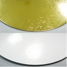 Подложка усиленная золото/жемчуг круг (30 cм)