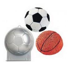 Металлическая форма для выпечки: Футбольный мяч