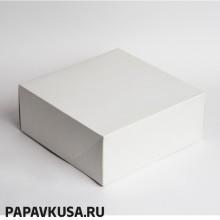 Коробка для торта 255*255*120 (1-2 кг)