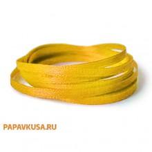 Лента желтая атласная 12 мм (1 метр)
